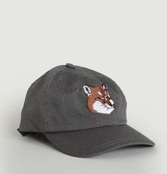 Embroidered Fox Cap