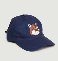 Fox Embroidered Cap