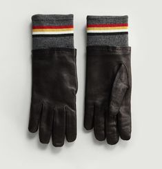 Colour Block Gloves