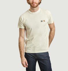 T-Shirt Brodé Renards Unisexe