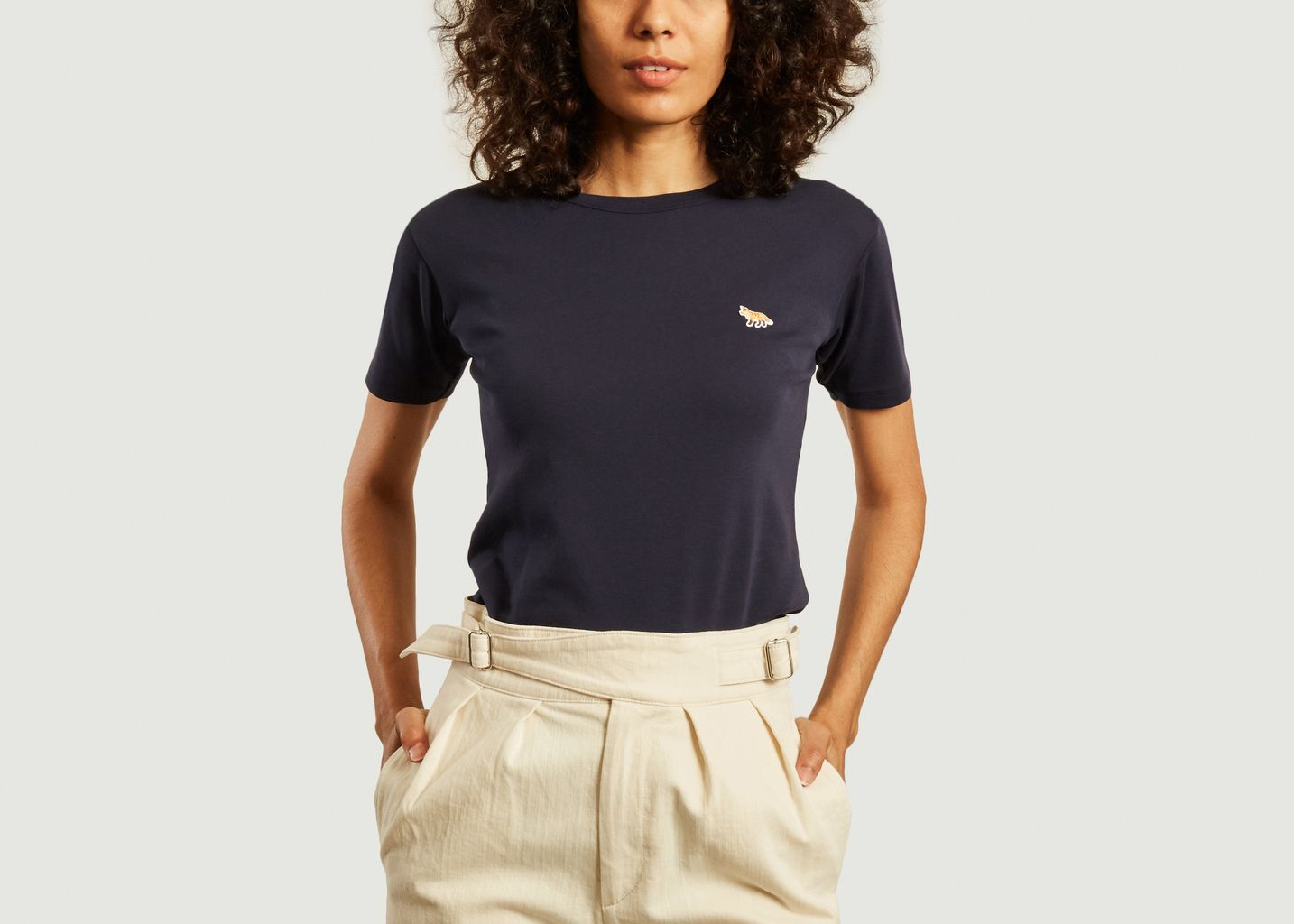 T-shirt logotypé renard - Maison Kitsuné