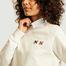 matière Sweatshirt logotypé double renard - Maison Kitsuné