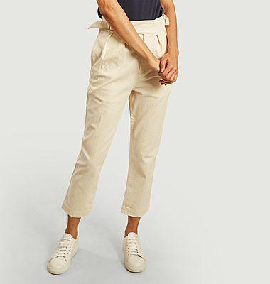 Pantalon en coton 7/8e Worker