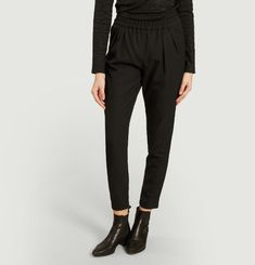 Jena elasticated waist trousers