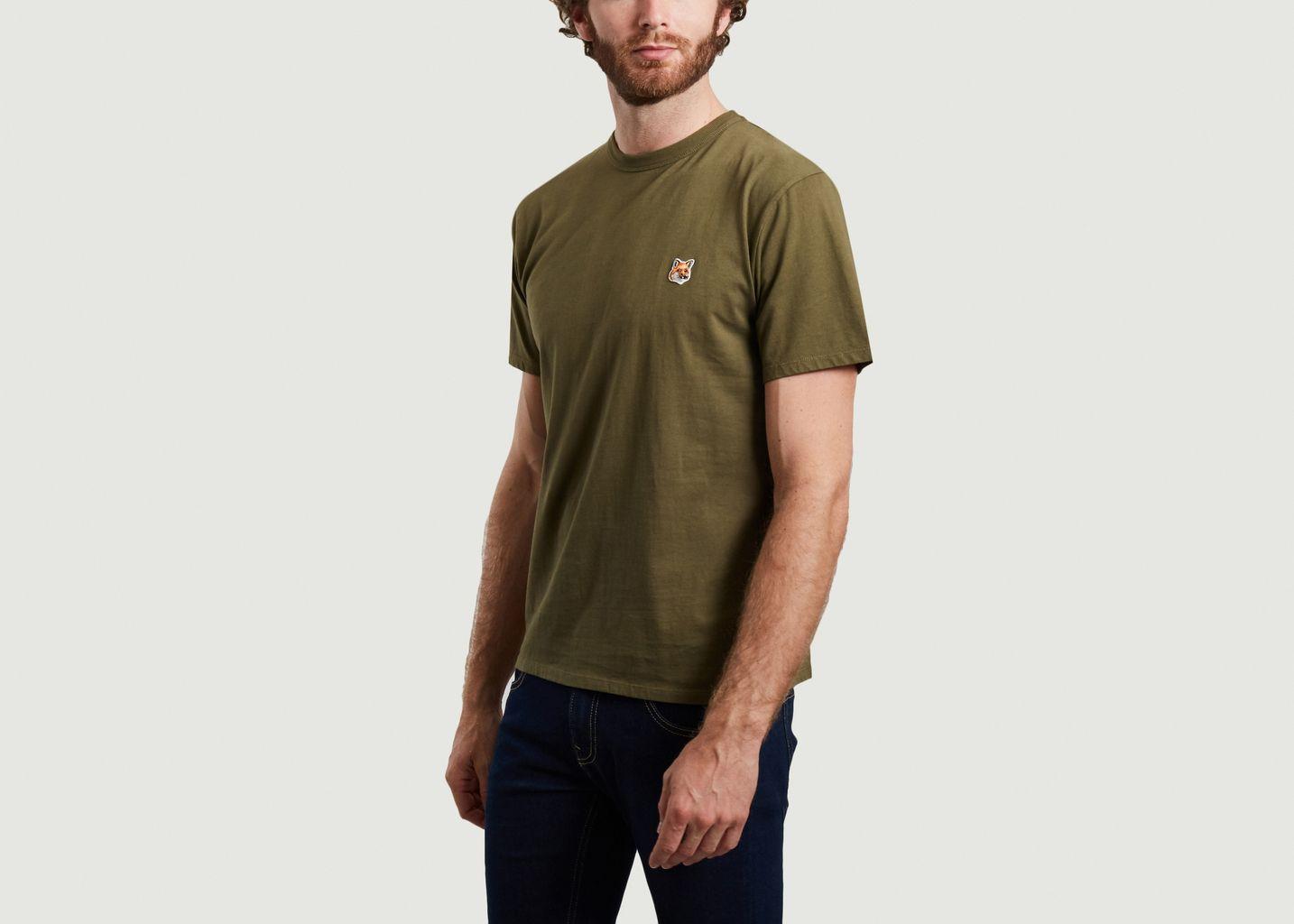 T-shirt siglé en coton - Maison Kitsuné