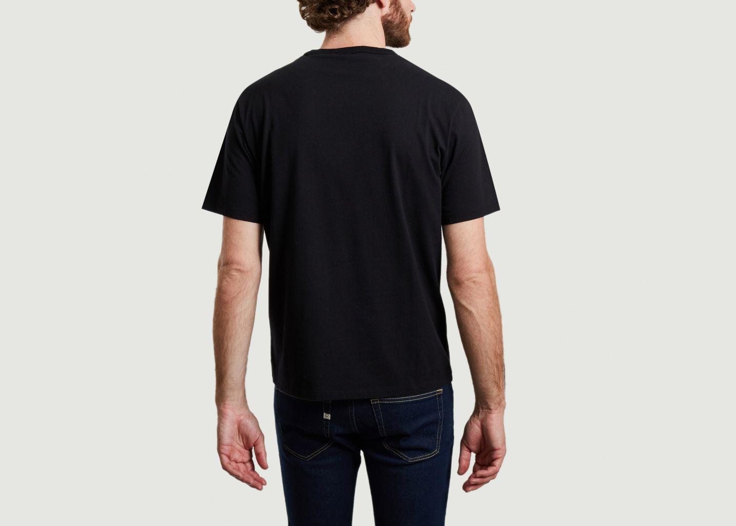 T-shirt en coton Flower Fox - Maison Kitsuné