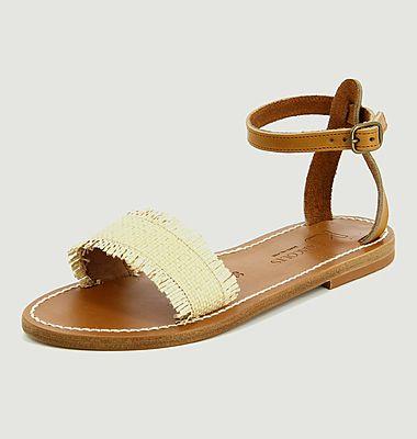Sandales Narmer raffia