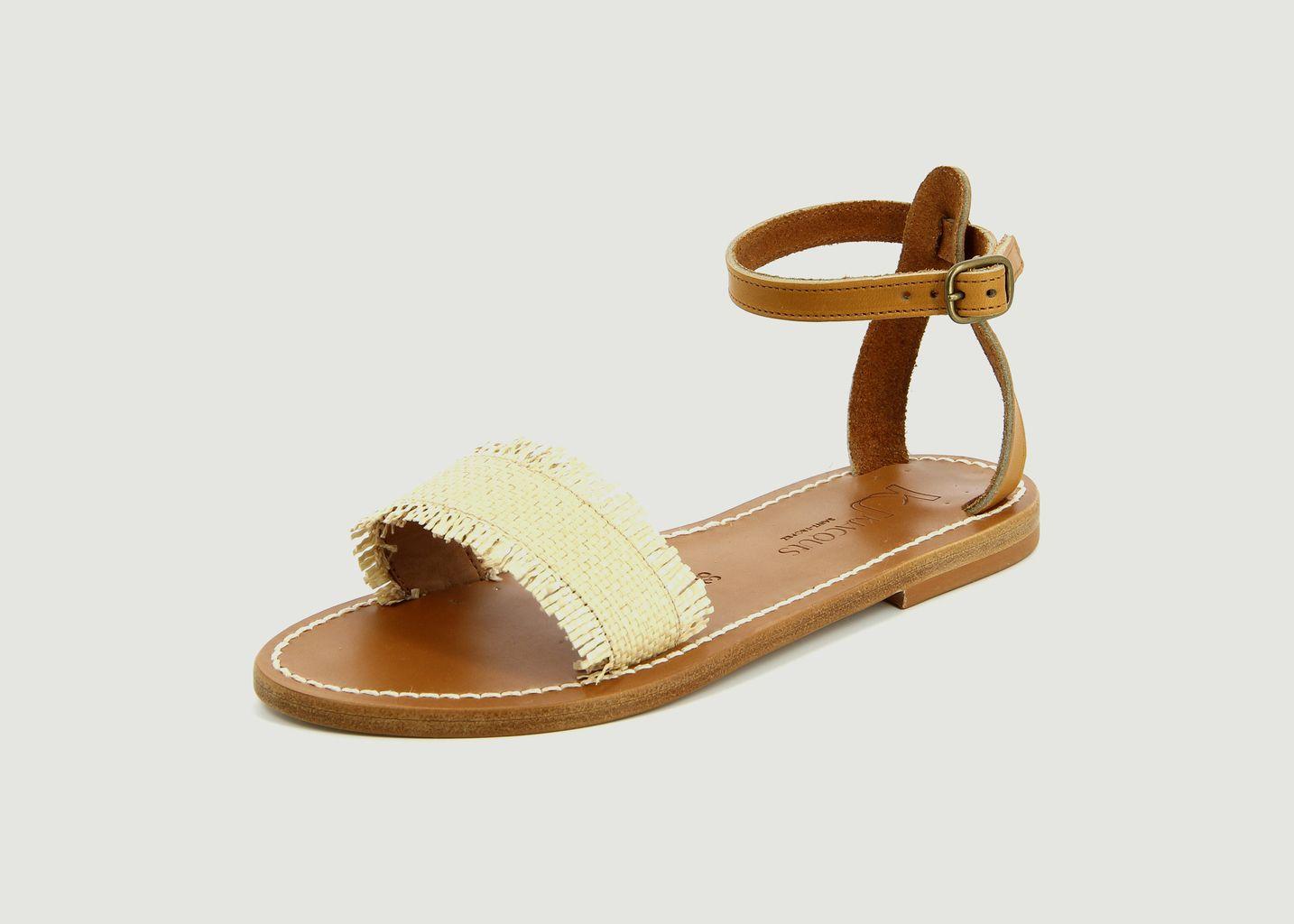 Sandales Narmer raffia - K Jacques
