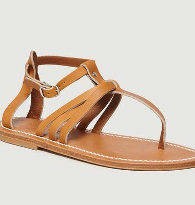 Sandales En Cuir Suédé Sophocle