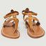 Sandales En Cuir Suédé Sophocle - K Jacques