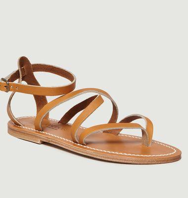 Sandale En Cuir Suédé Épicure