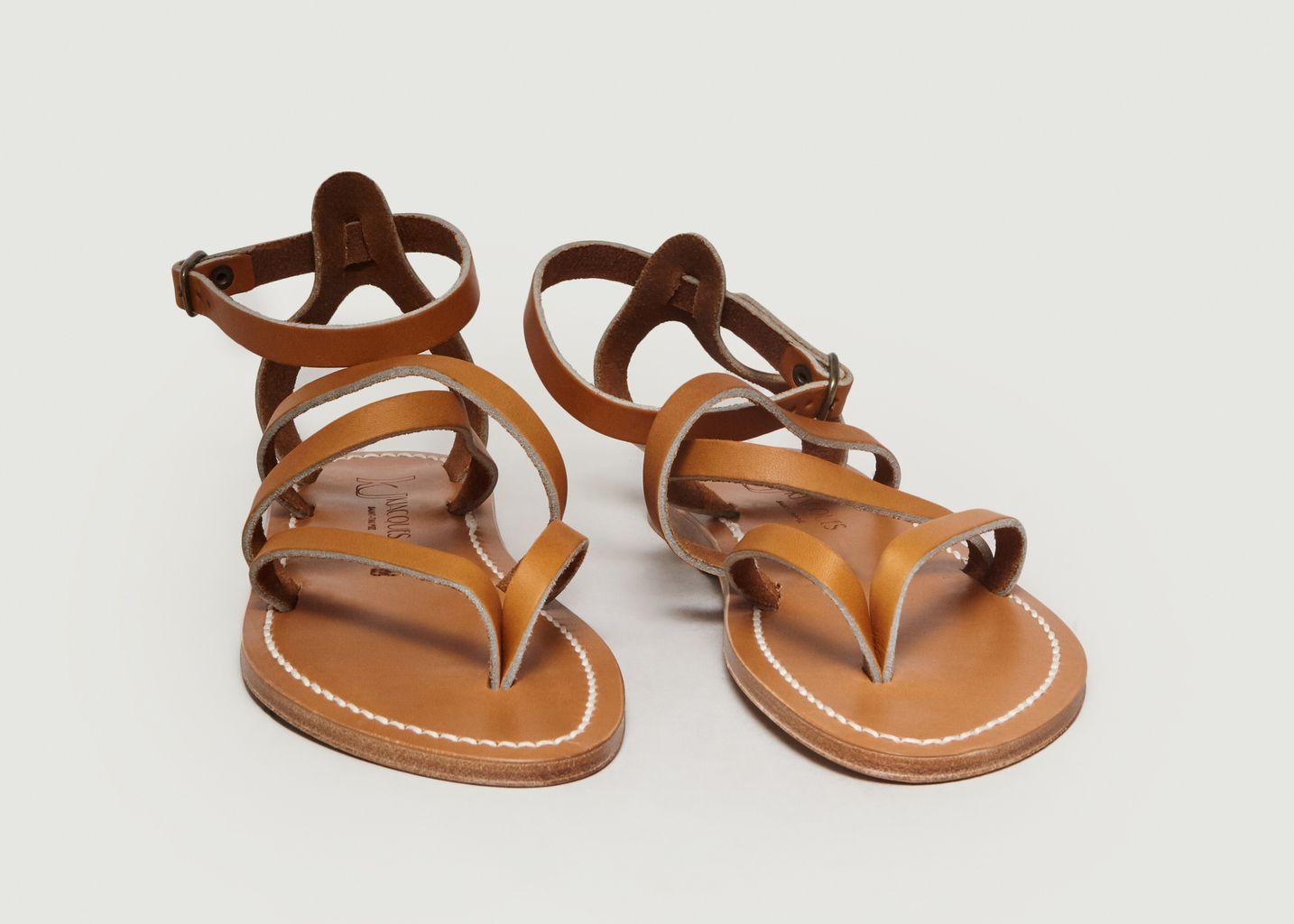 Sandale En Cuir Suédé Épicure - K Jacques
