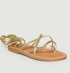 Sandales En Cuir Zenobie