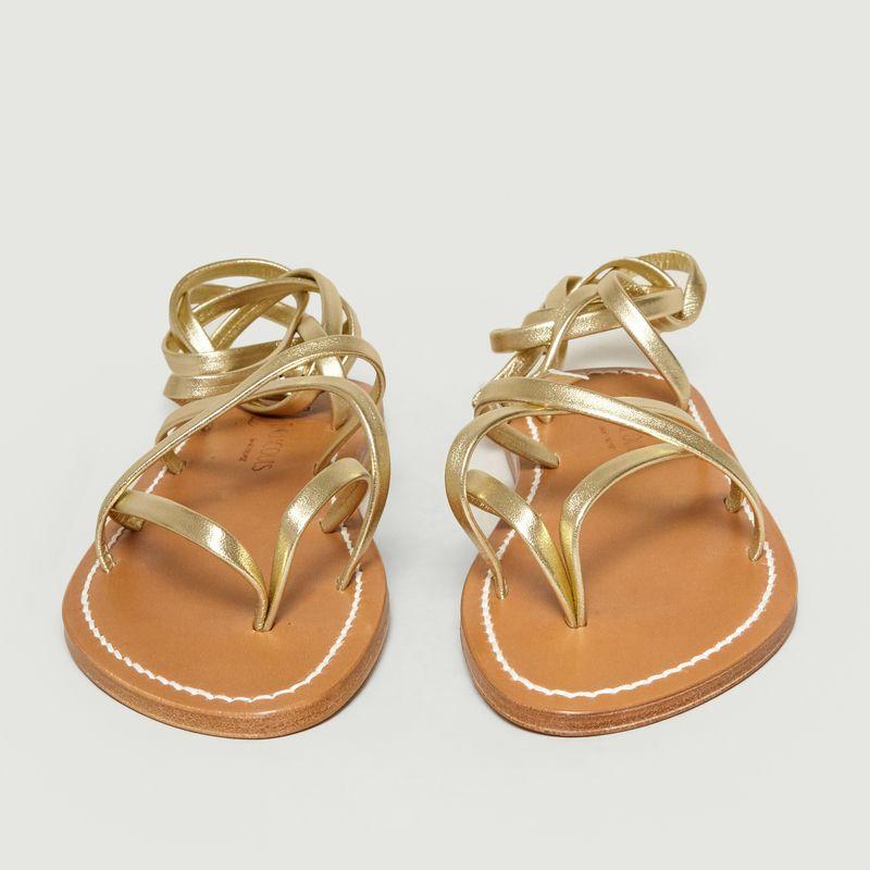 Sandales En Cuir Zenobie - K Jacques