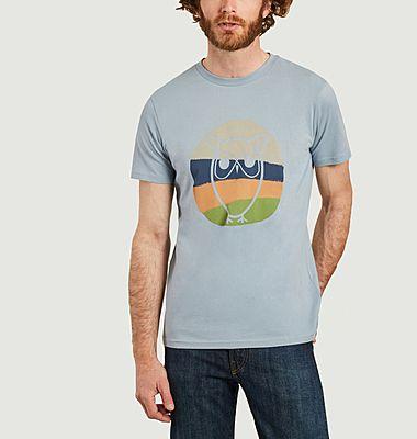 T-shirt coloré Alder
