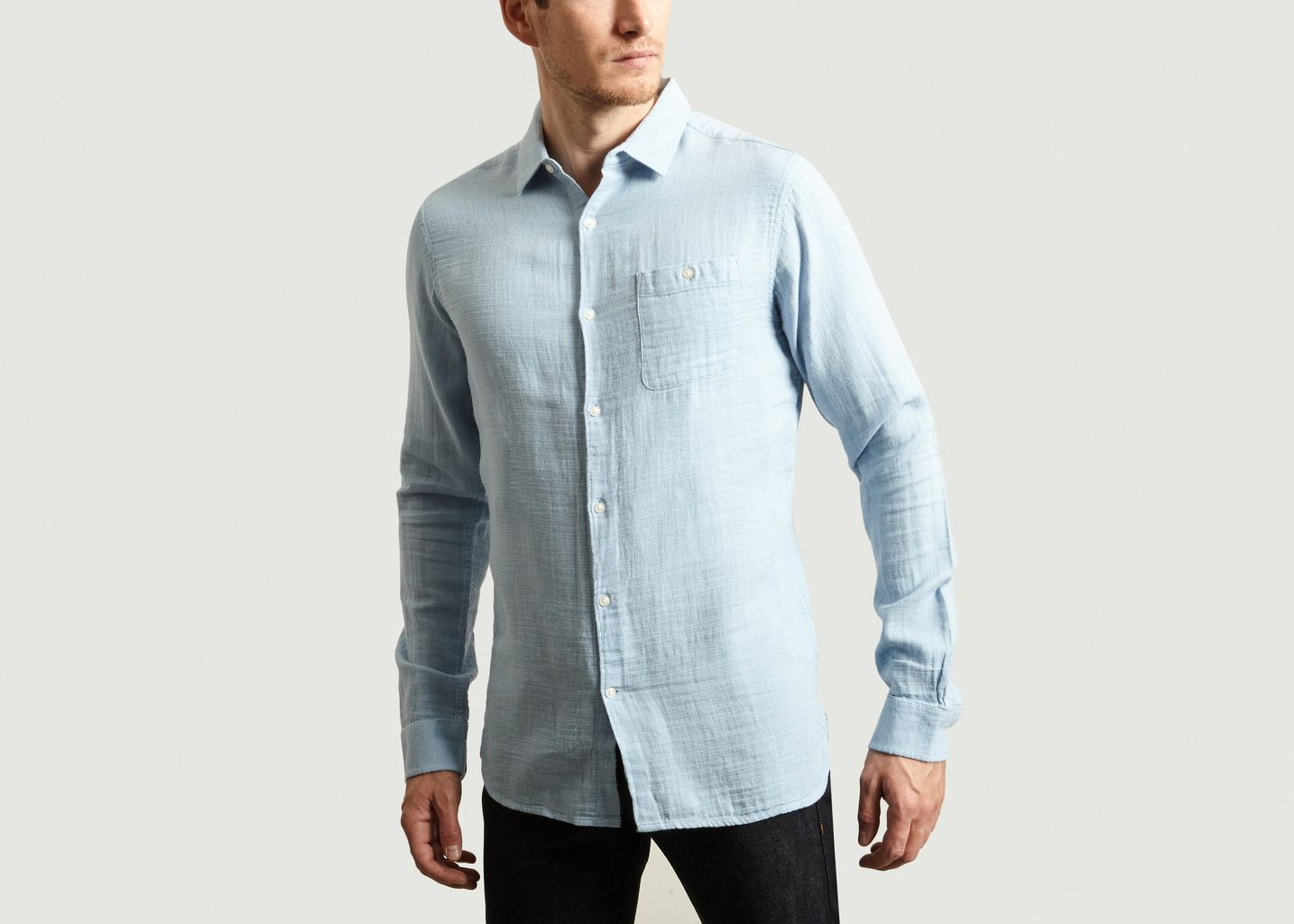 Double Layer Shirt - Knowledge Cotton Apparel