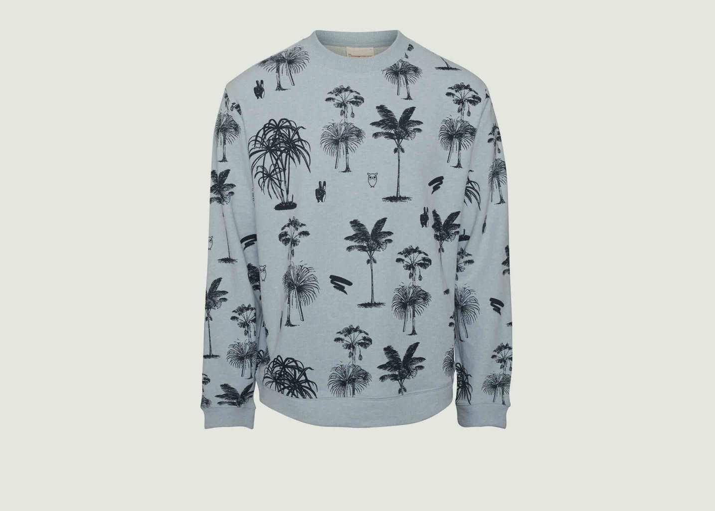 Sweat Big Palms - Knowledge Cotton Apparel