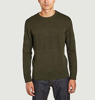 Field organic cotton sweater