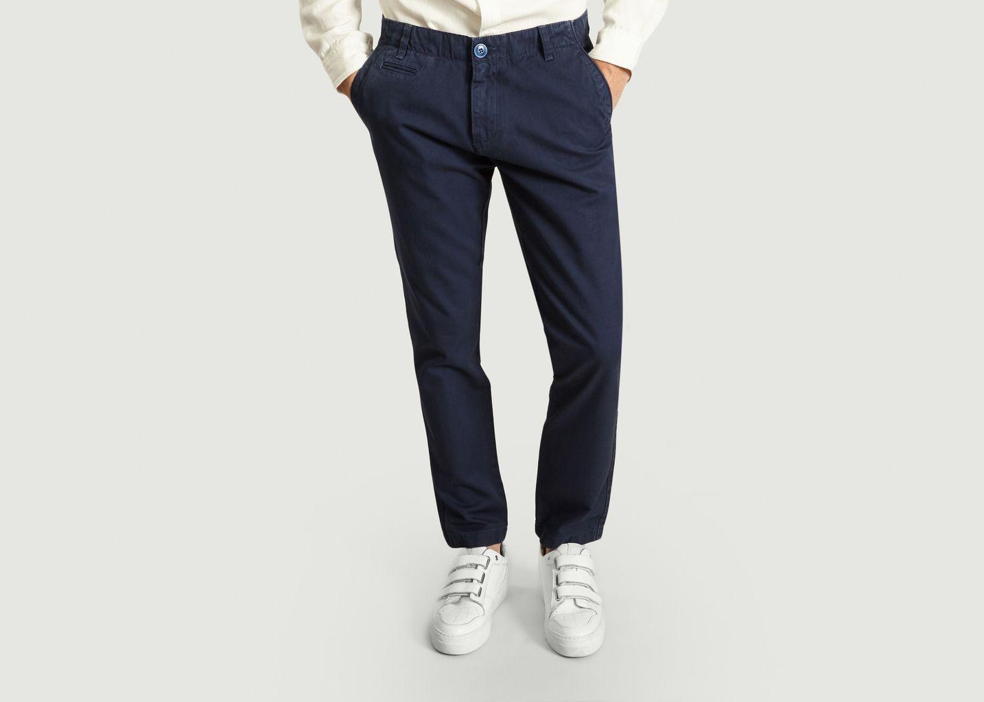 Pantalon Chino Chuck The Brain - Knowledge Cotton Apparel