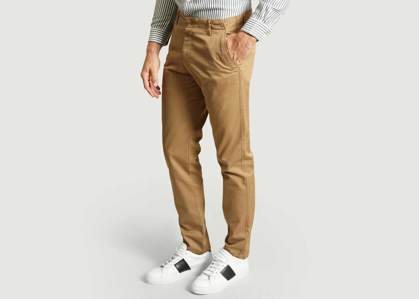 Pantalon Chino Chuck en Coton Biologique - Knowledge Cotton Apparel