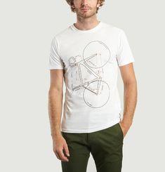 T-Shirt Imprimé Vélo