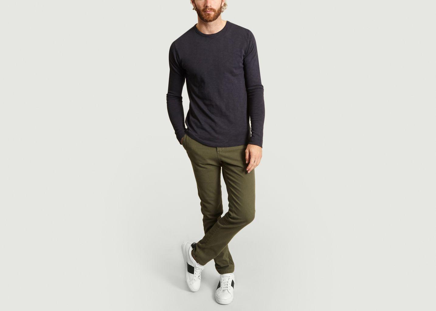 T-Shirt Manches Longues Elm - Knowledge Cotton Apparel