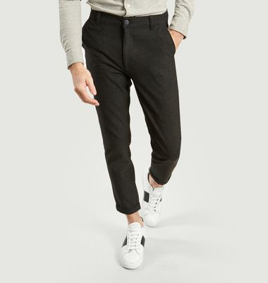 Pantalon Slim Texturé Joe