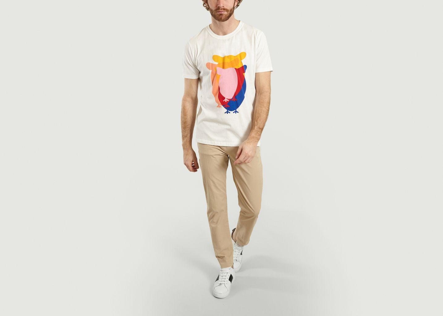 T-Shirt Hibou Alder en Coton Bio - Knowledge Cotton Apparel