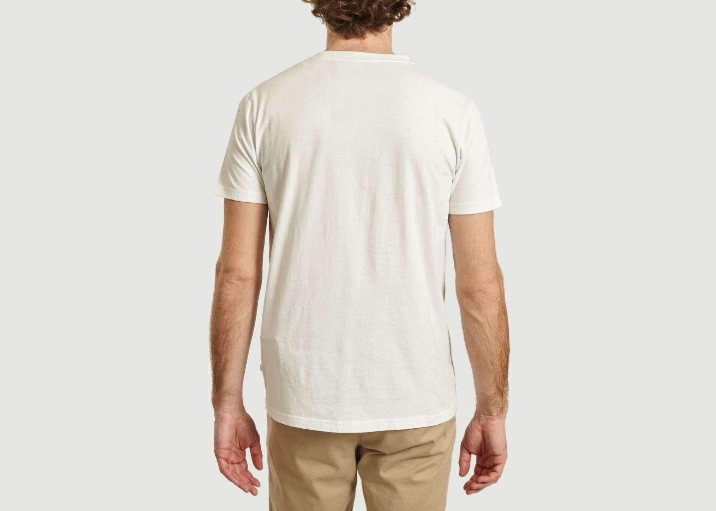 T-Shirt Wave en Coton Bio - Knowledge Cotton Apparel