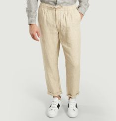 Pantalon Birch Lin Taille Élastiquée
