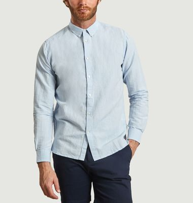 Linen and Cotton Larch Shirt