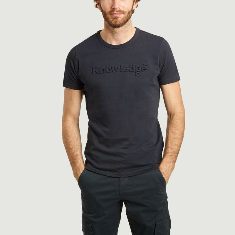 T-shirt knowledge en coton bio Alder - KCA