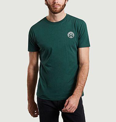 T-shirt logotypé en coton bio Alder