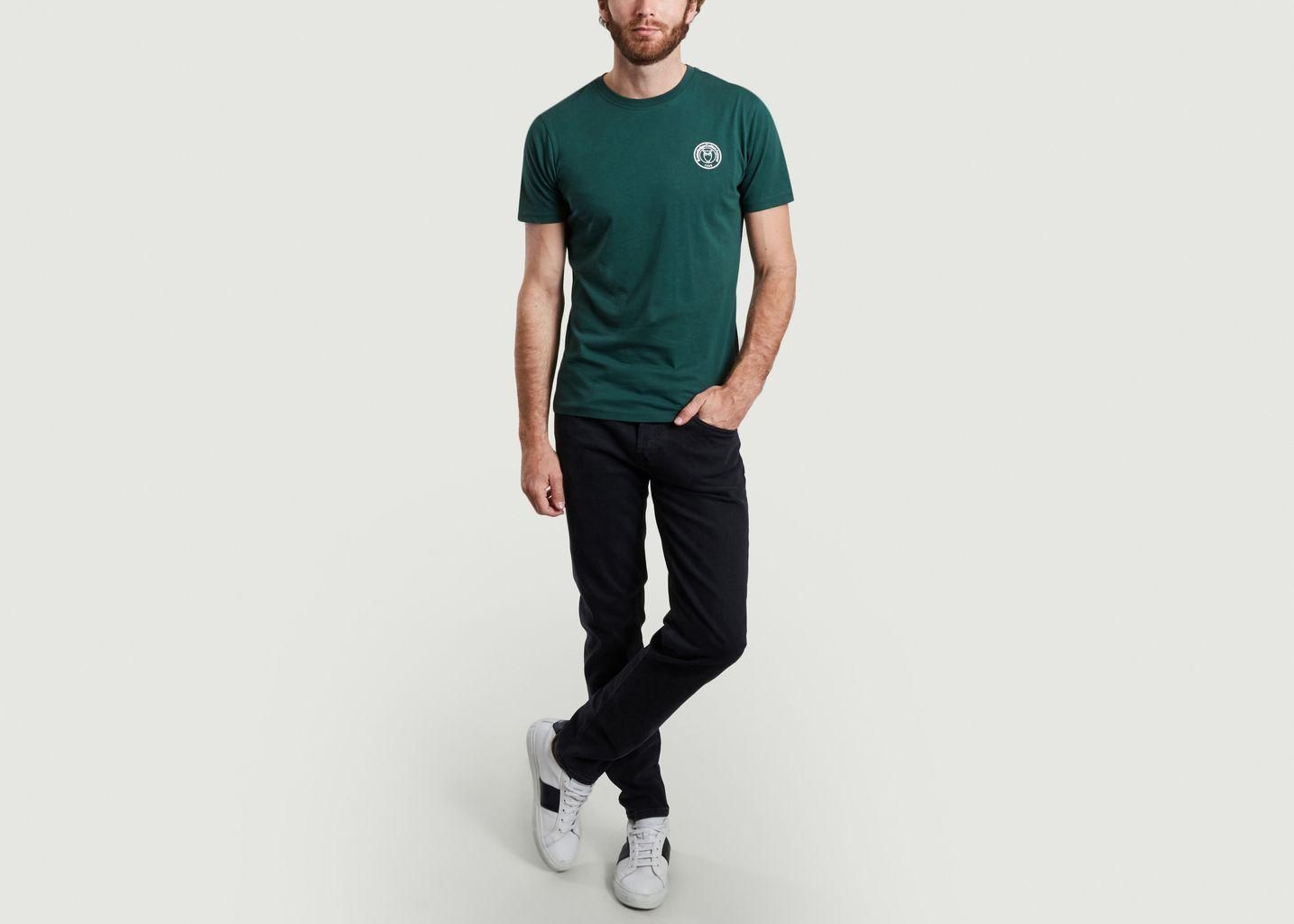 T-shirt logotypé en coton bio Alder - KCA