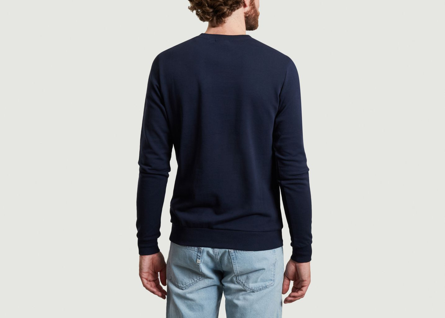 Sweatshirt siglé en coton bio Elm - KCA