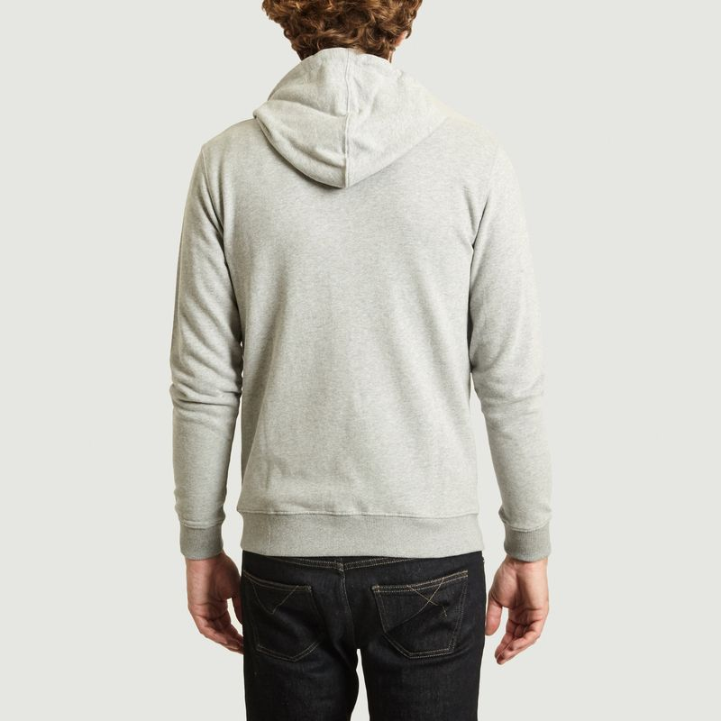 Hoodie zippé en coton bio Elm - KCA
