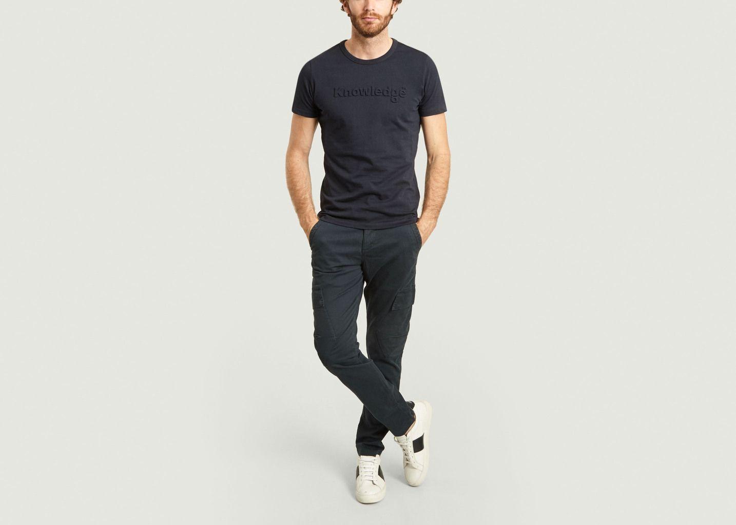 Pantalon cargo en coton bio Joe - KCA