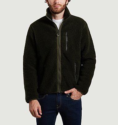 Sweatshirt zippé en polaire Elm