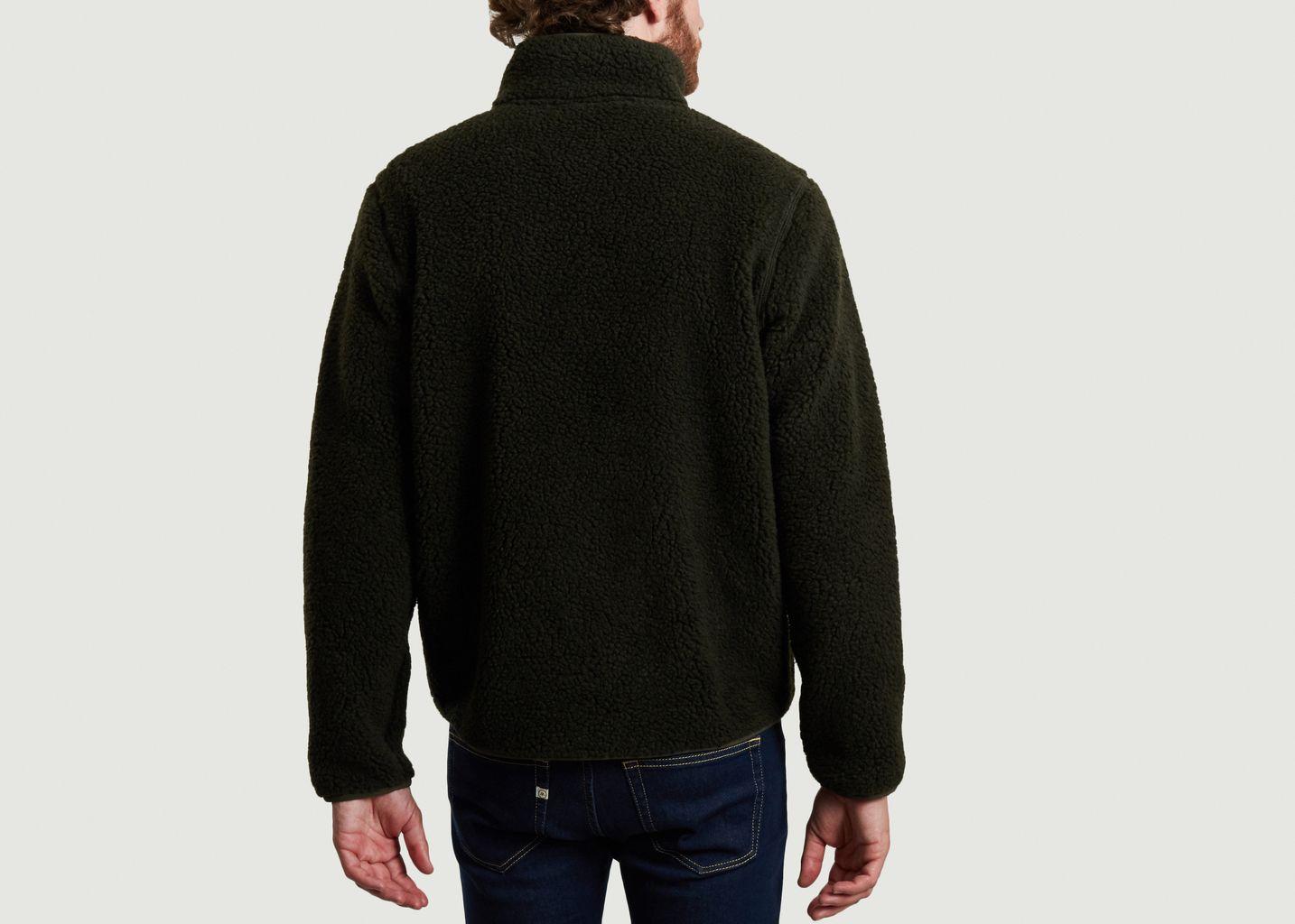 Sweatshirt zippé en polaire Elm - KCA