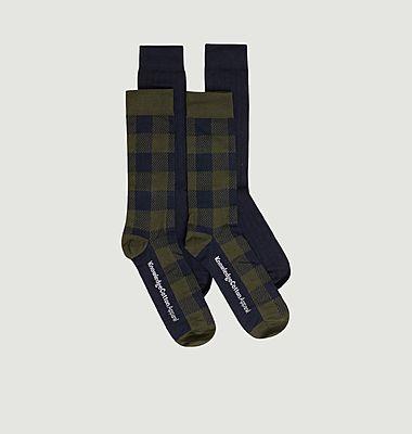 Pack de 4 paires de chaussettes Timber