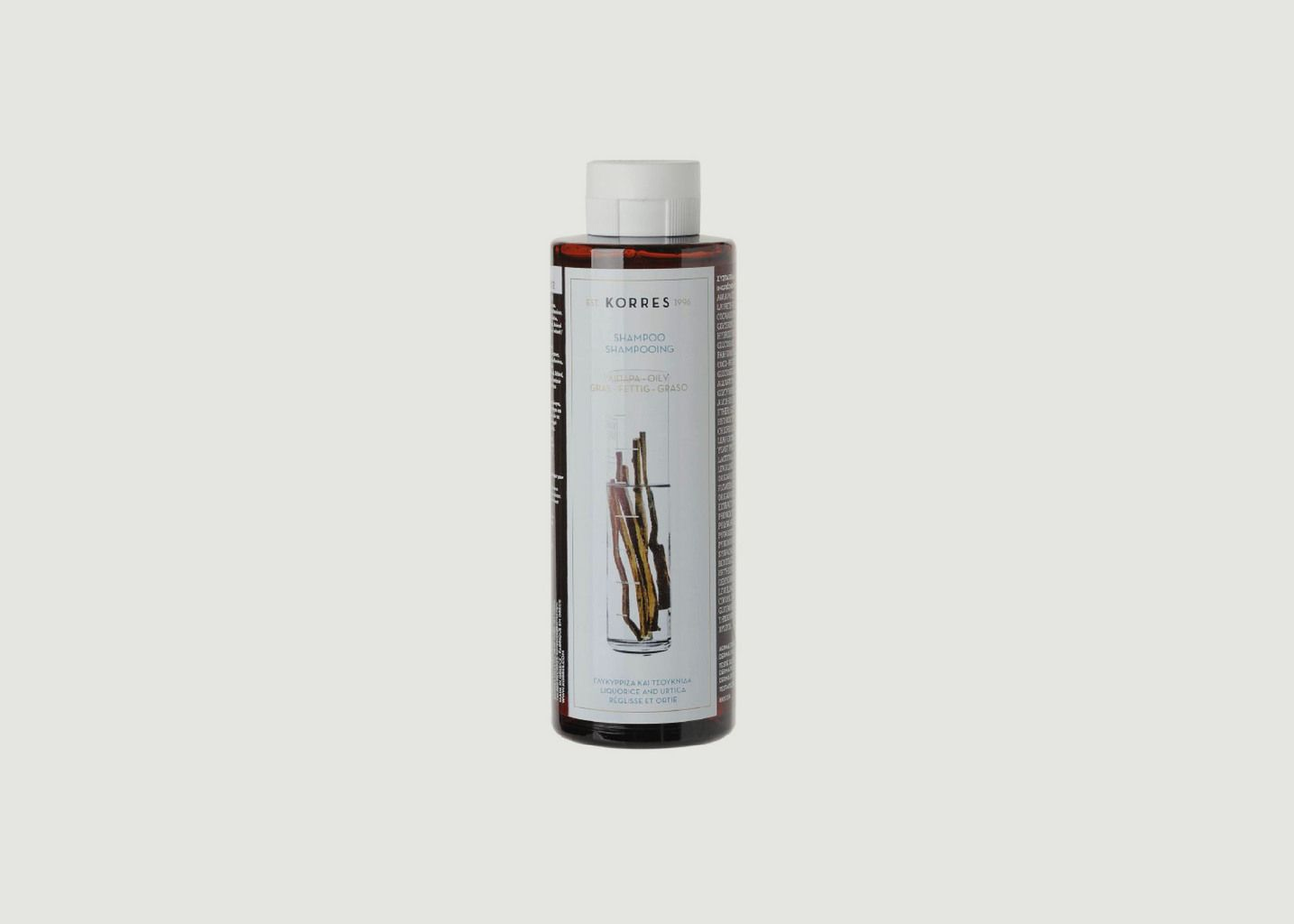 Shampooing cheveux gras - réglisse & ortie  250ml - Korres
