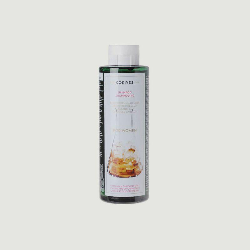 Shampooing anti-chute femme - cystéine & glycoprotéines 250ml - Korres