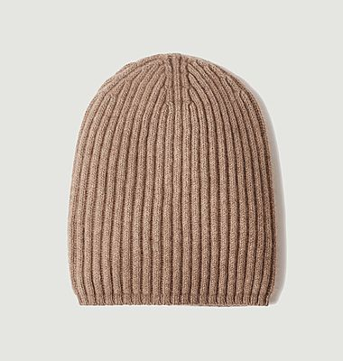 Bruges organic cashmere beanie