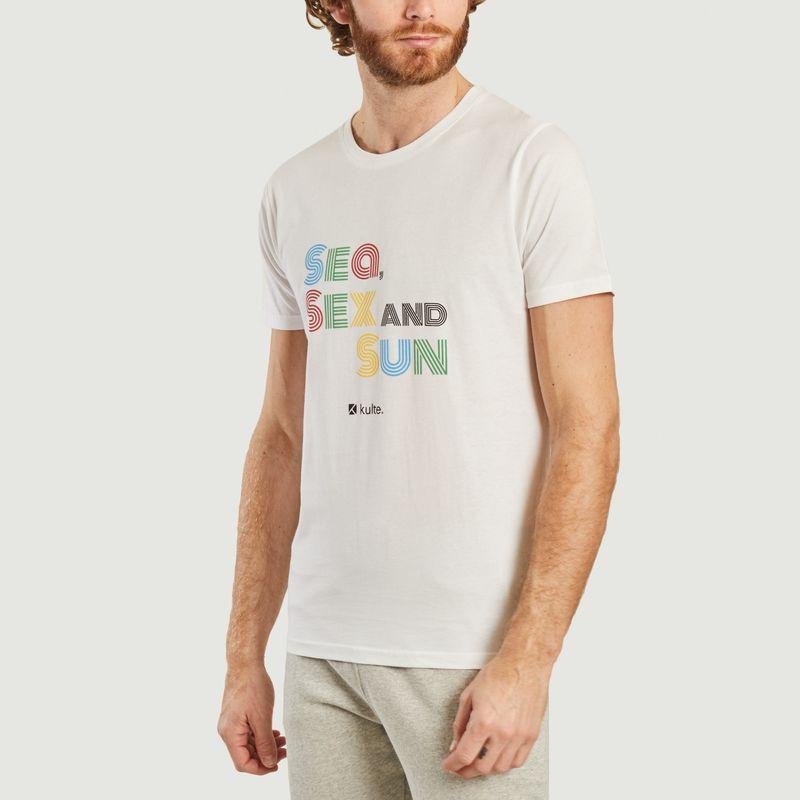 T-shirt Sea & Sun - Kulte