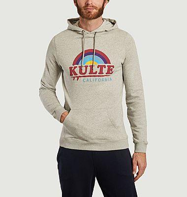Sweatshirt à capuche California Sky