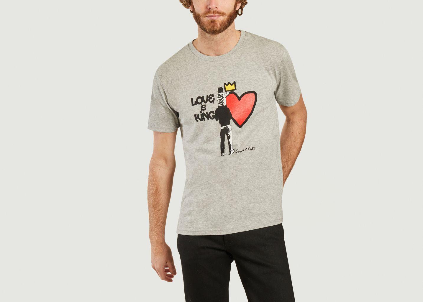 T-shirt Love is King Kulte x Sunra - Kulte