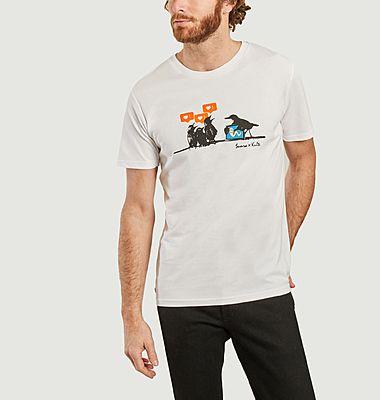 T-Shirt Birds Kulte x Sunra