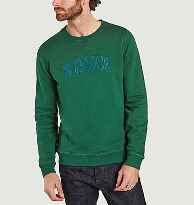 Corpo Athletic logo organic cotton sweatshirt