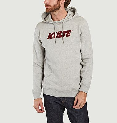 Corpo Italic organic cotton logo hoodie