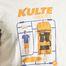 matière T-Shirt Kit Kulte en Coton Biologique - Kulte